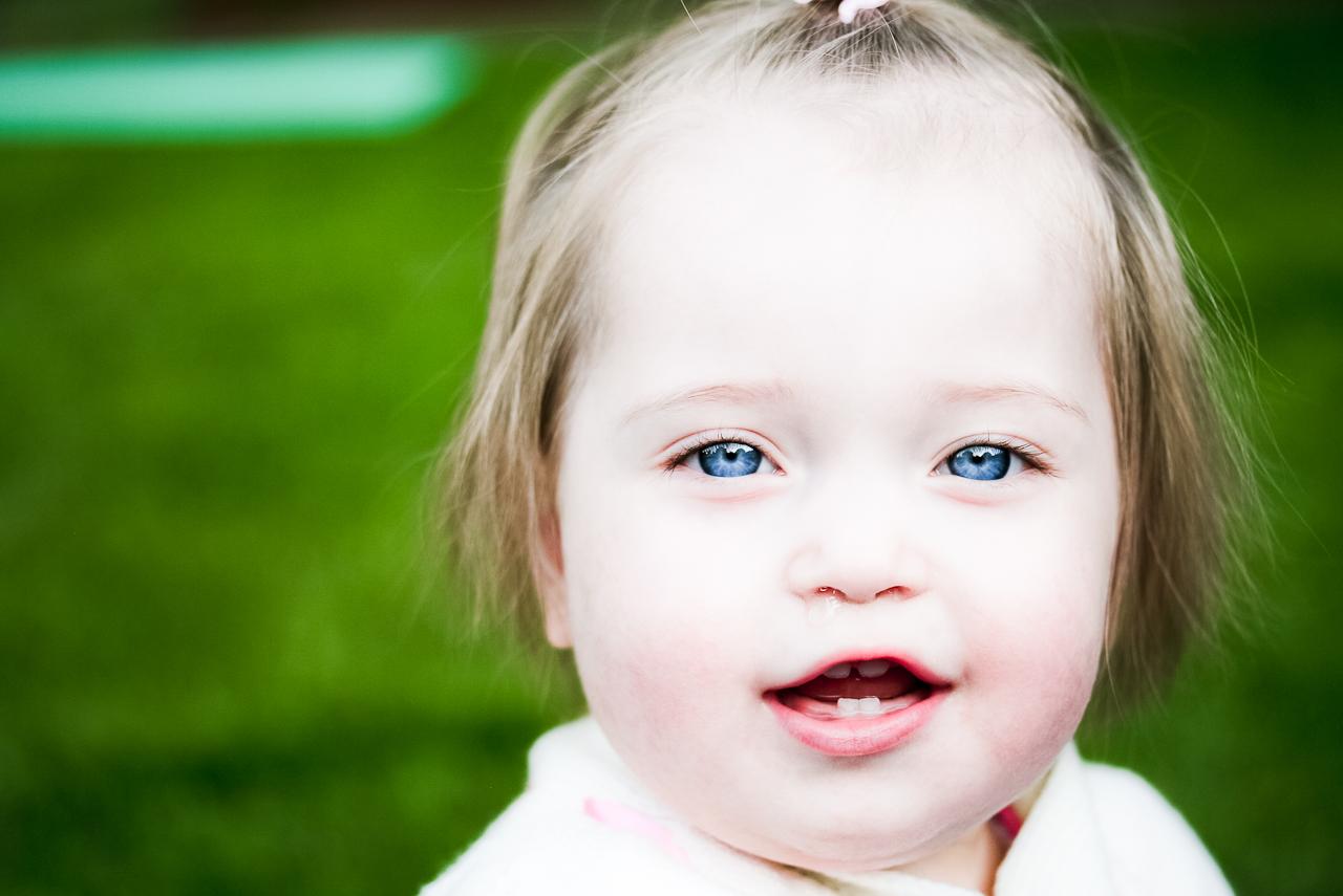 Baby Porträt.