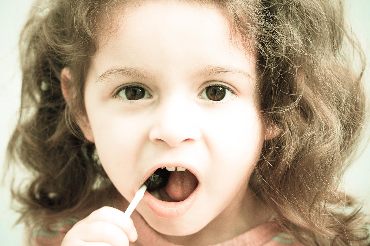Kleines Mädchen Porträt.