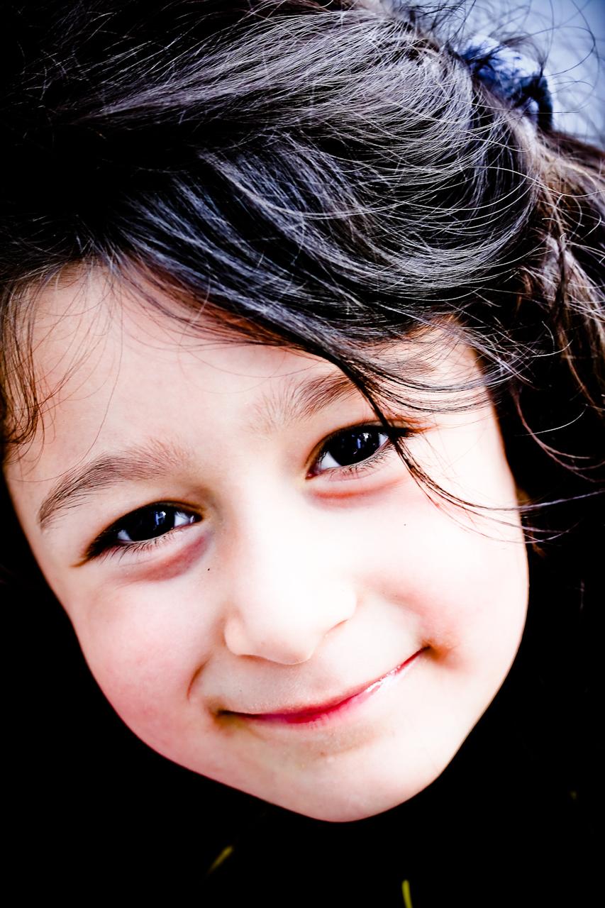 Kleines Mädchen Porträt