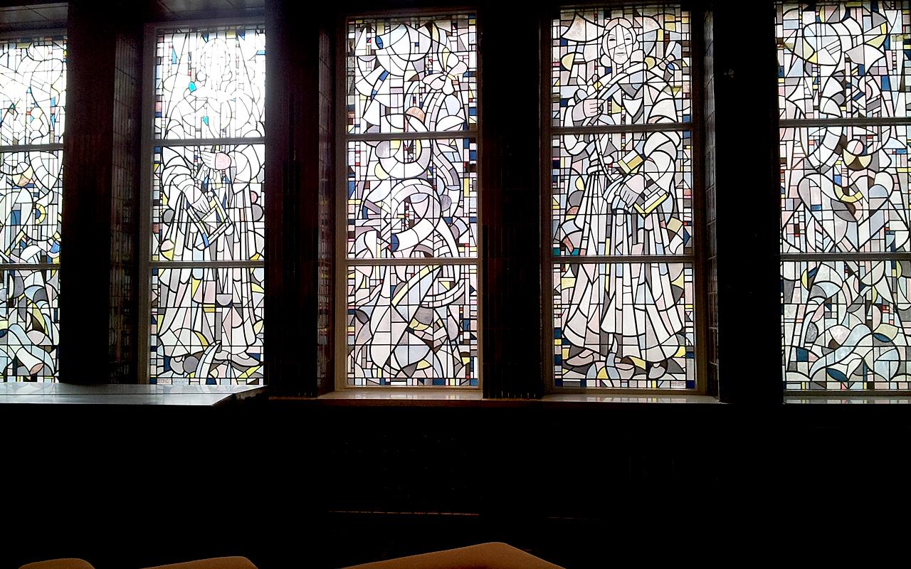 Eberhard Viegener Glaskunst FH Dortmund