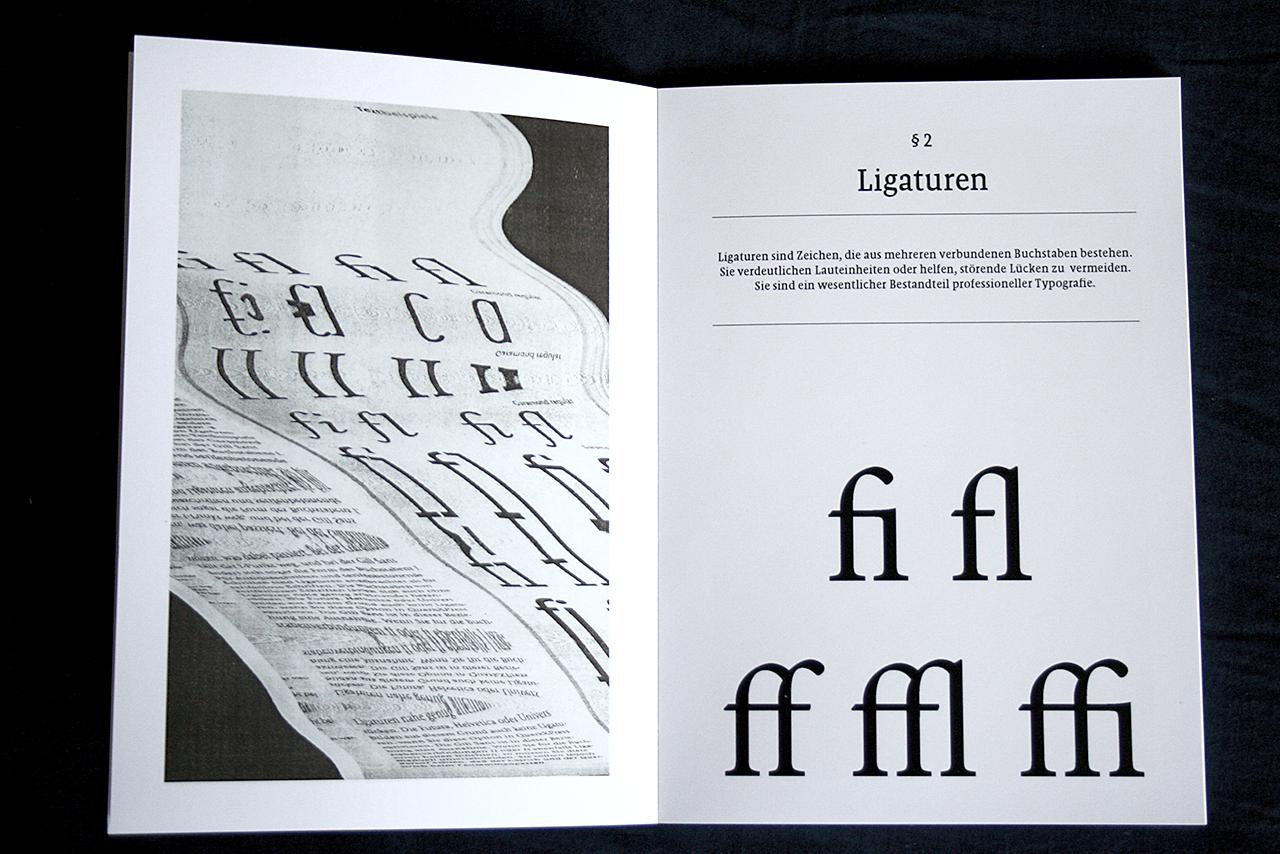 Buch Fotos Typografische Regeln