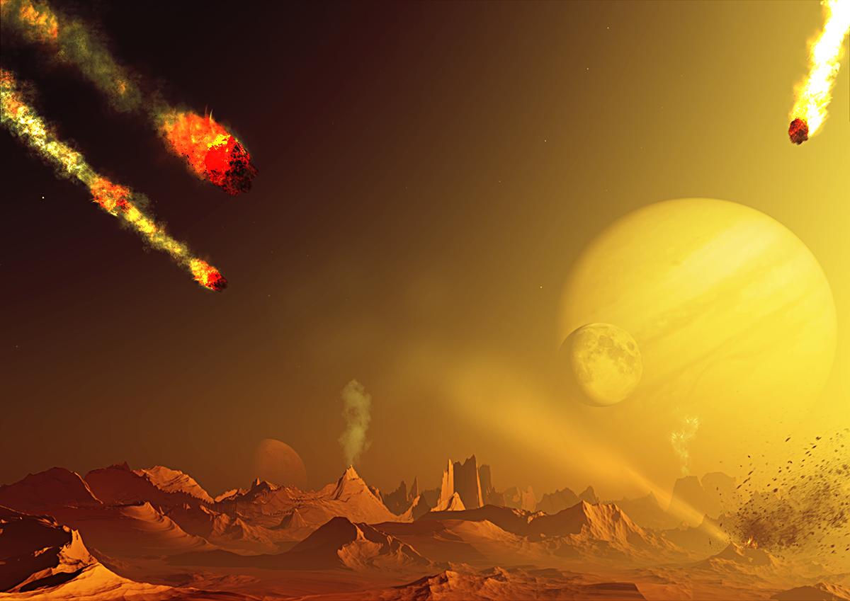 Big Bang Planeten