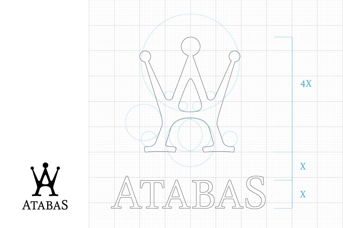 Atabas Logo Making of