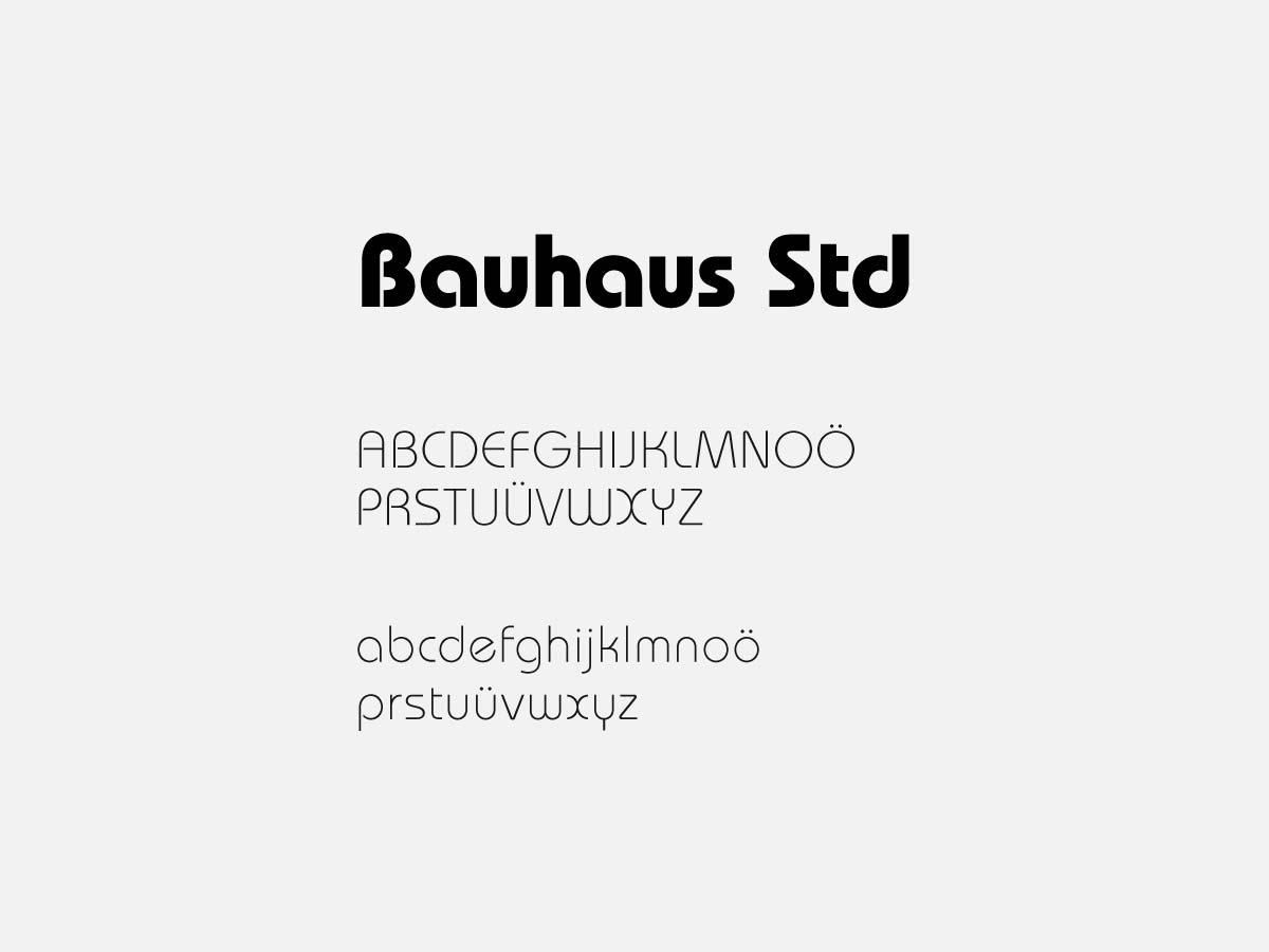 Dadas Supermarkt Font Auswahl