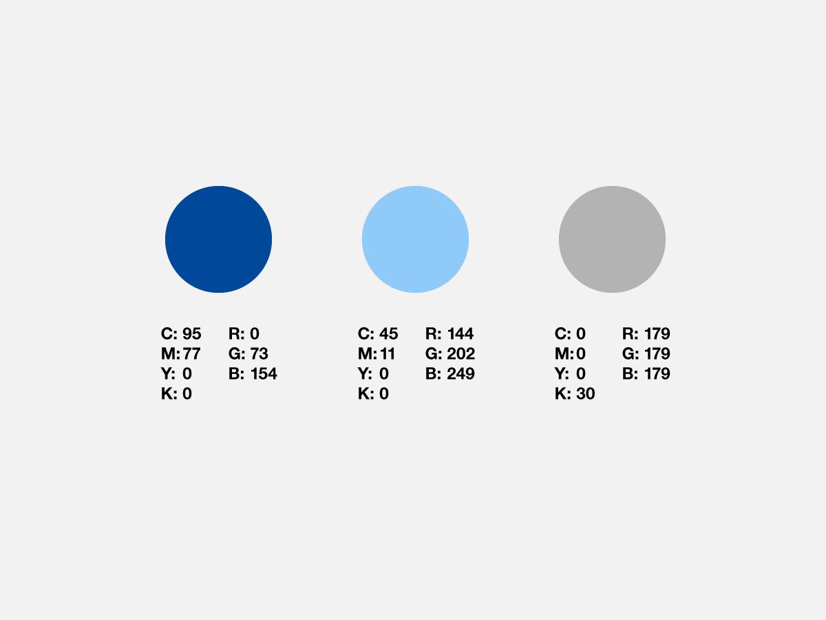 SON Express Logo Farbauswahl