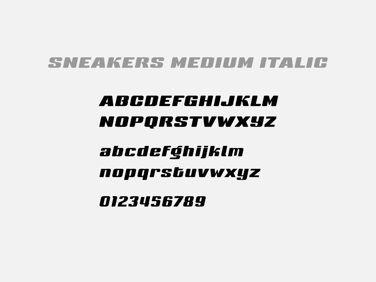SON Express Logo Font Auswahl