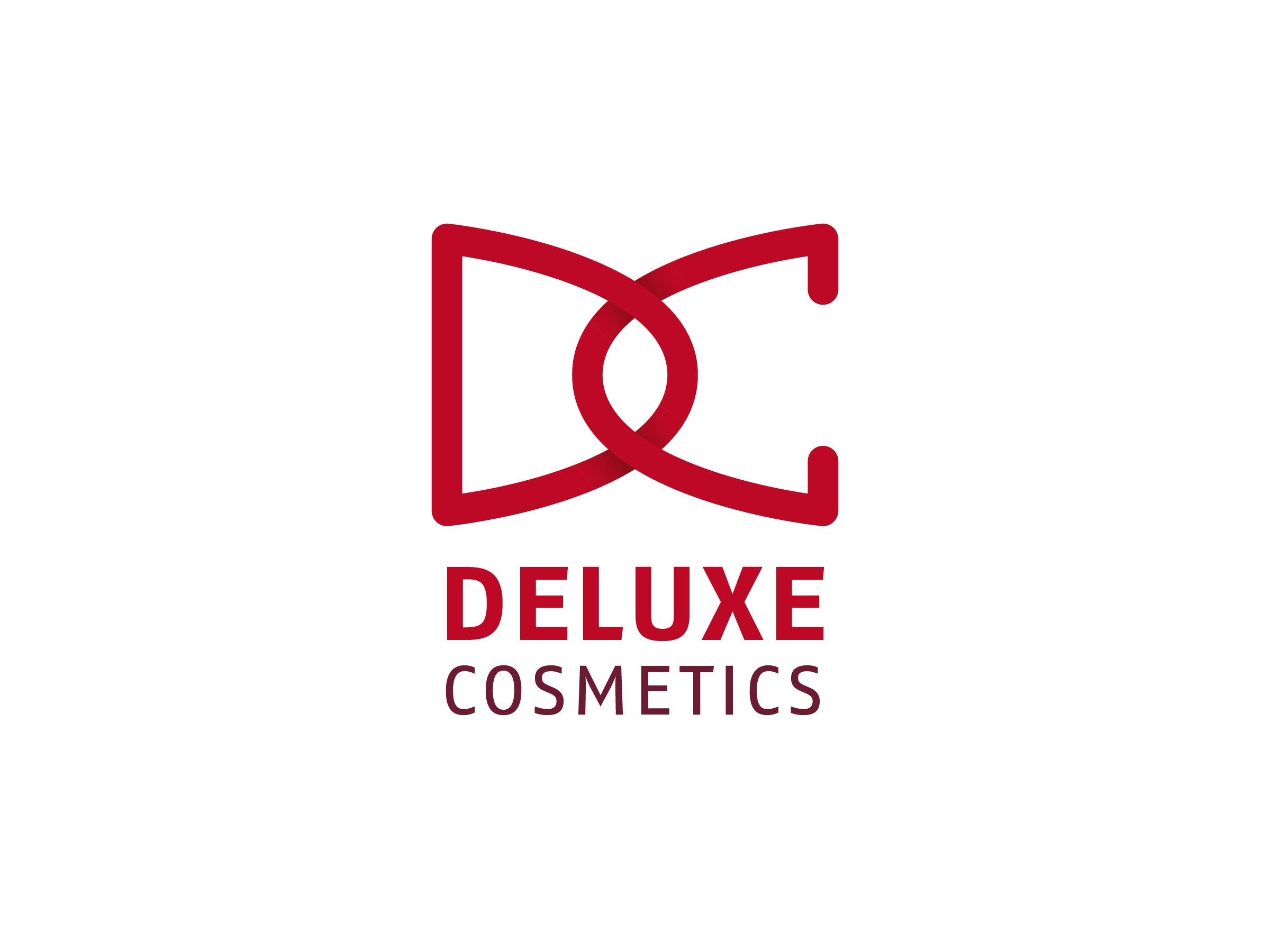 Deluxe Cosmetics Logo Design Vorschau