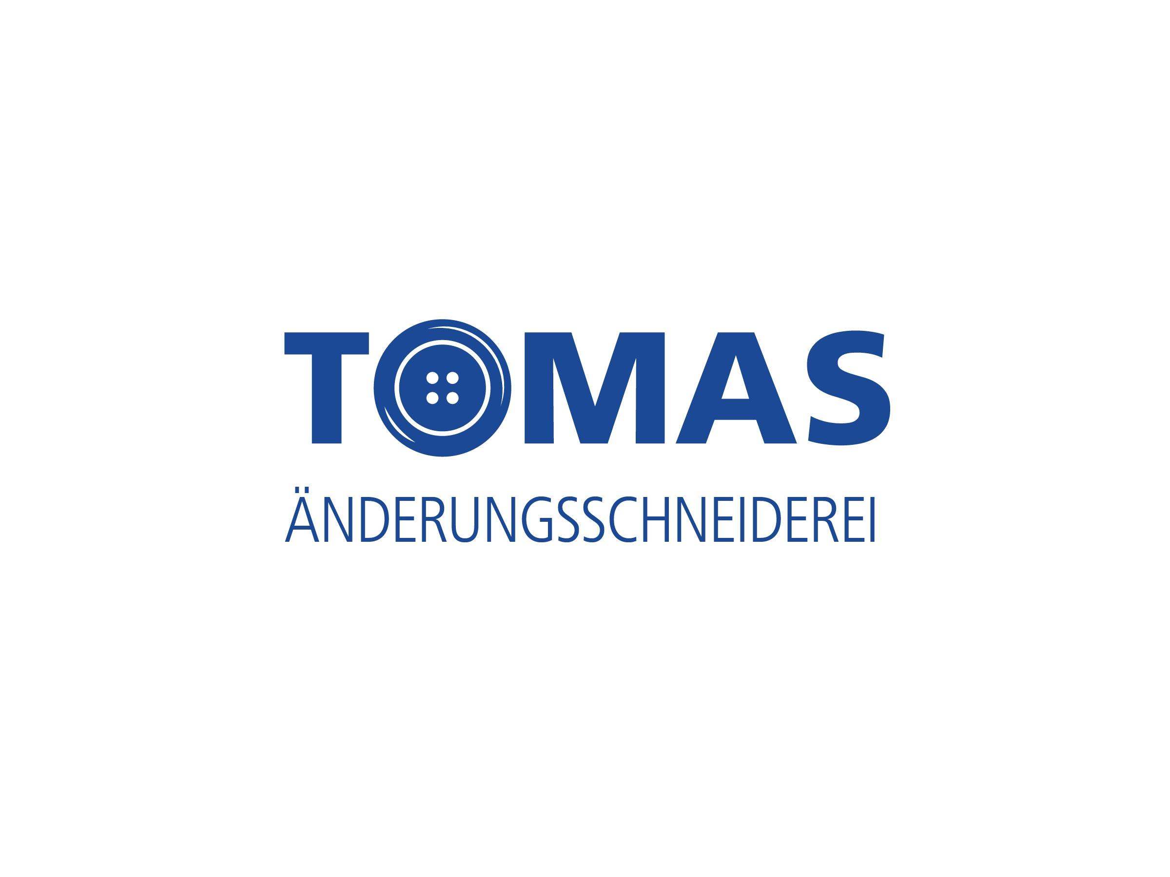 Tomas Änderungsschneiderei Logo Design Vorschau