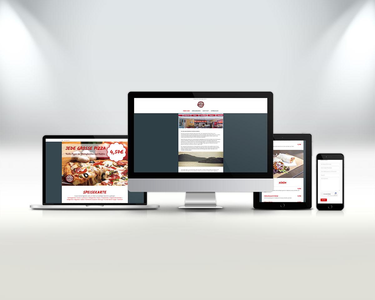 Webseite Vorschau alle Geräte