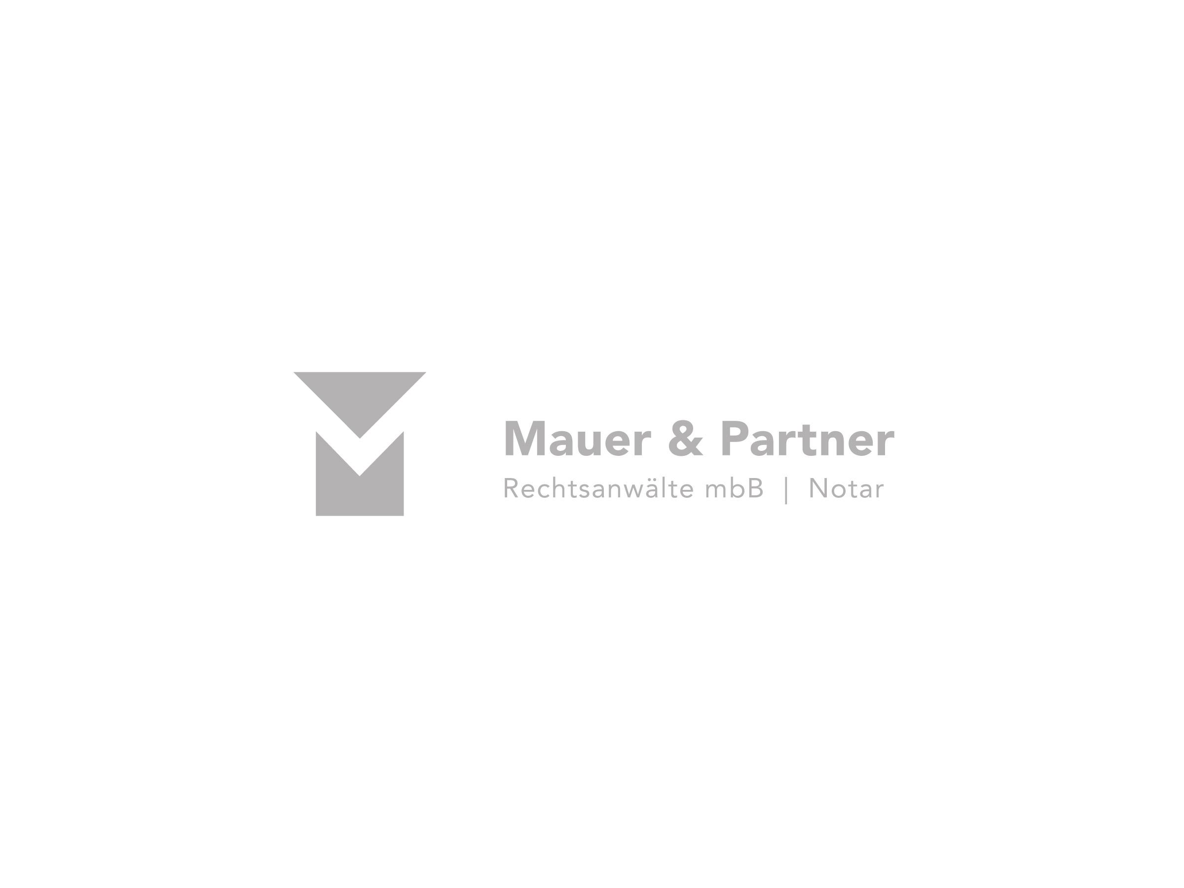 Mauer & Partner – Logo Vorschau