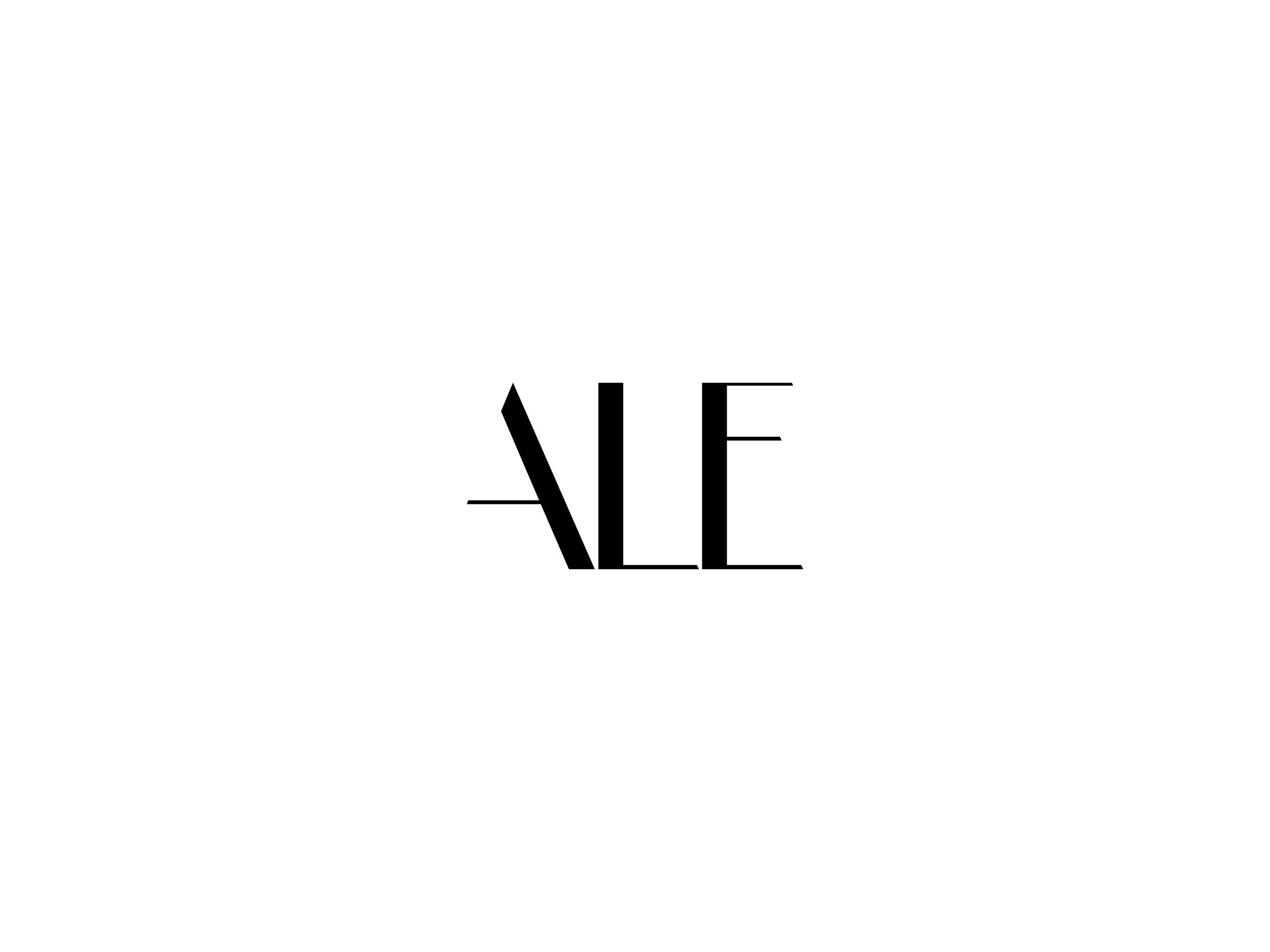 Logo Design für ALE Fotografie