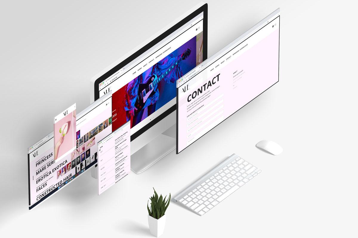 Webdesign für ALE Fotografie
