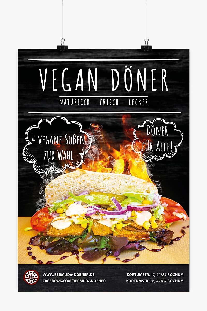 Vegan Döner Kampagne Poster