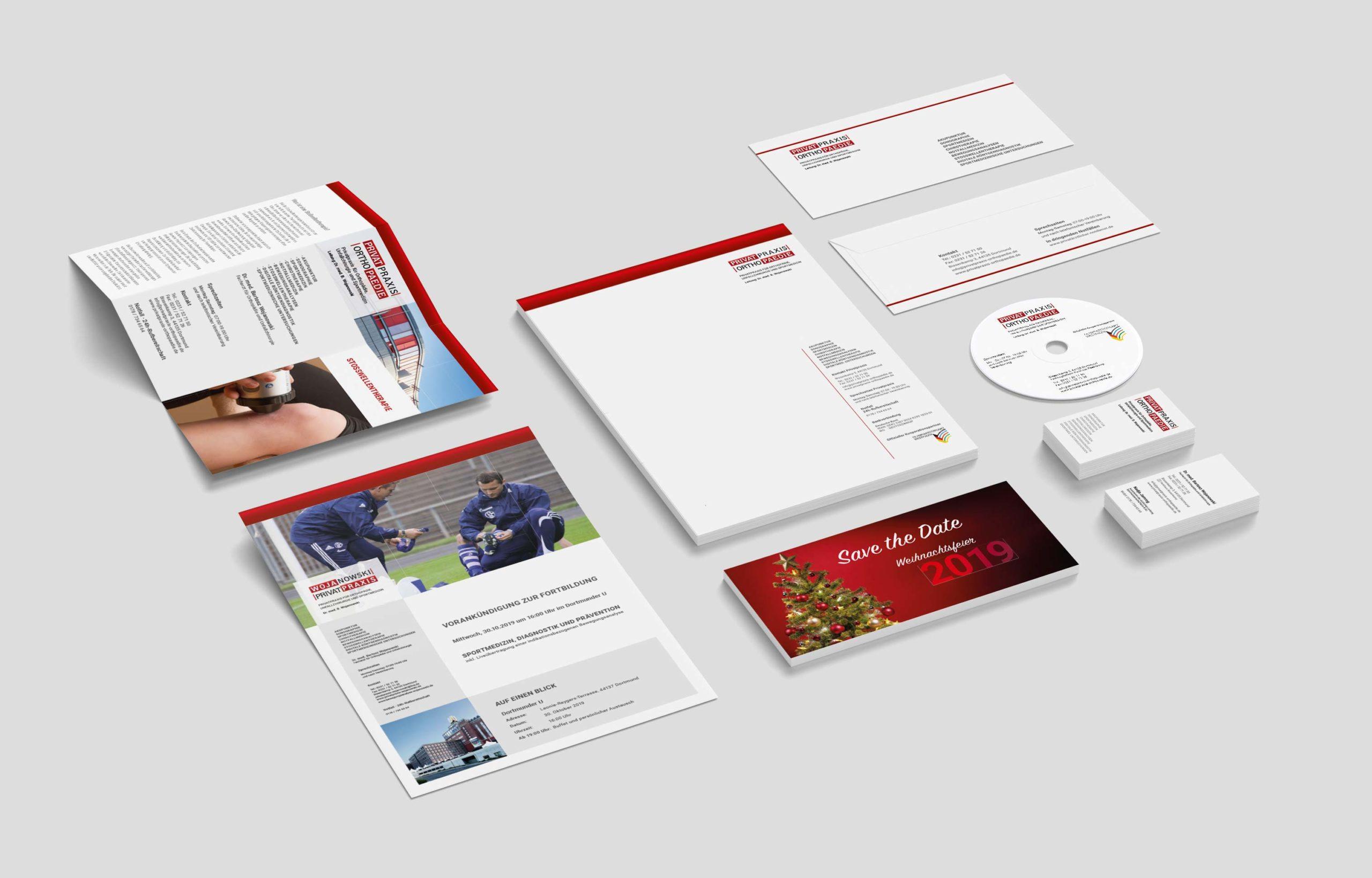 Privatpraxis Orthopädie Logodesign Vorschau